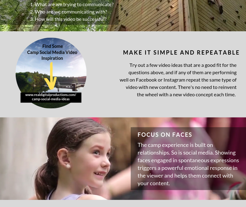 4 Tips for Creating Great Social Video for Summer Camps