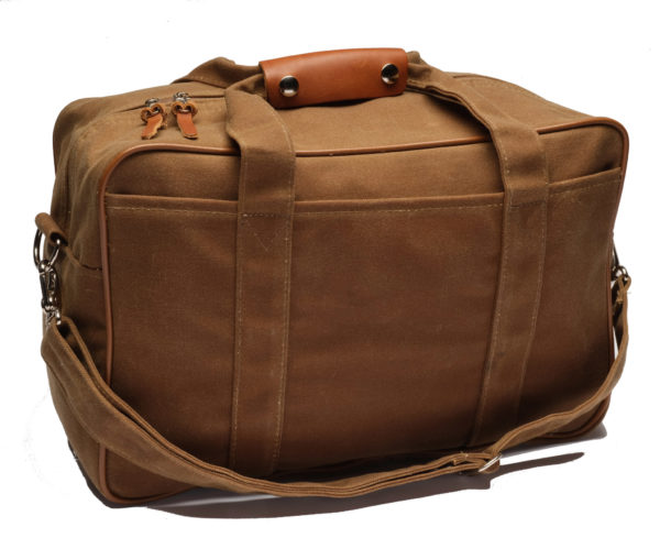 The 33 Liter Waxed Canvas Pannier Liner