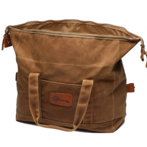 The 44 Liter Waxed Canvas Pannier Liner
