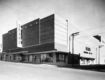 Sears back in the day. Now the current site of the Health & Human Services Building on Coxe Avenue.
